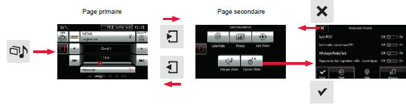 citro n c4 cactus fonctionnement g n ral tablette tactile 7 pouces audio et t l matique. Black Bedroom Furniture Sets. Home Design Ideas